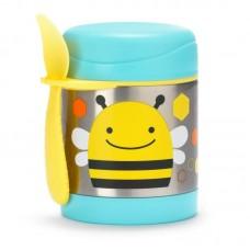 Skip * Hop Zoo Insulated Little Kid Food Jar, Bee