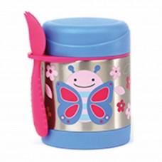 Skip * Hop Zoo Insulated Little Kid Food Jar, Butterfly