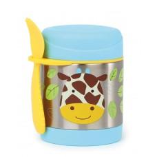 Skip * Hop Zoo Insulated Little Kid Food Jar, Giraffe