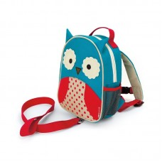 Skip * Hop Zoo Safety Harness Backpack Owl