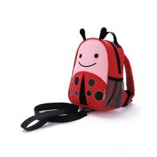 Skip * Hop Zoo Safety Harness Backpack Ladybird