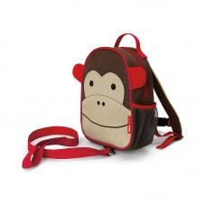 Skip * Hop Zoo Safety Harness Backpack Monkey