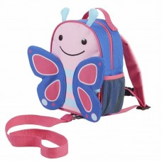 Skip * Hop Zoo Safety Harness Backpack Butterfly