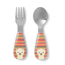 Skip * Hop Fork & Spoon Zoo, Lama