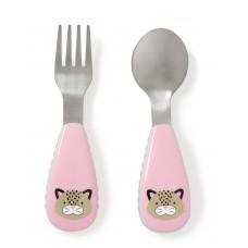 Skip * Hop Fork & Spoon Zoo, Leopard
