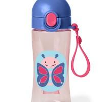 Skip * Hop Lock-Top Sport Bottle Butterfly