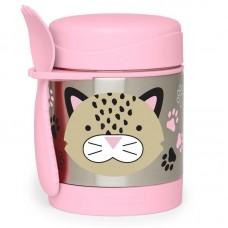 Skip * Hop Zoo Insulated Little Kid Food Jar, Leopard