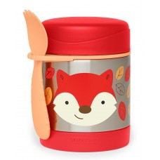 Skip * Hop Zoo Insulated Little Kid Food Jar, Fox