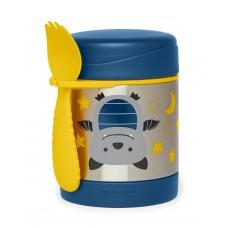 Skip * Hop Zoo Insulated Little Kid Food Jar, bat