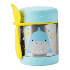 Skip * Hop Zoo Insulated Little Kid Food Jar, Shark