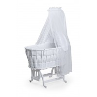 Tahterevalli Bobo Wooden Cradle white