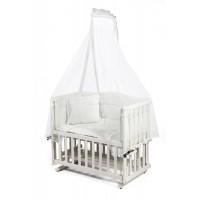 Tahterevalli Duo Wooden Cradle white