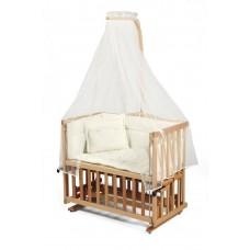 Tahterevalli Duo Wooden Cradle natural wood