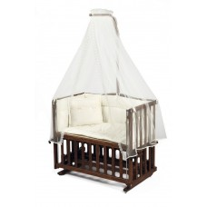 Tahterevalli Duo Wooden Cradle walnut