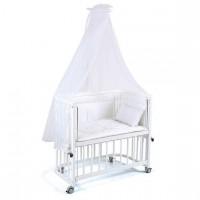 Tahterevalli Nanny Wooden Bed white