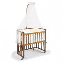 Tahterevalli Nanny Wooden Bed walnut