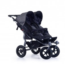 TFK Twin stroller Twin Adventure 2 Premium Grey