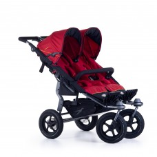 TFK Twin stroller Twin Adventure 2 Tango red