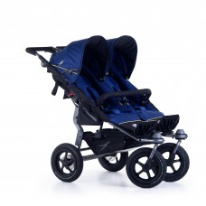 TFK Twin stroller Twin Adventure 2 Twilight blue
