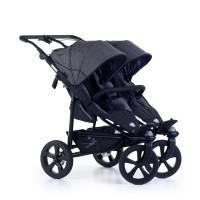 TFK Twin stroller Twin Trail 2 Premium Grey