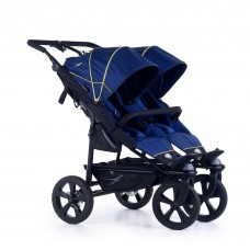 TFK Twin stroller Twin Trail 2 Twilight blue