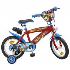 Toimsa Детски велосипед с помощни колела Paw Patrol Boy, 14 инча