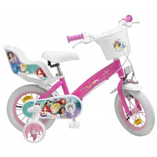 Toimsa Детски велосипед с помощни колела Princess, 14 инча