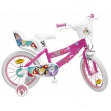 Toimsa Детски велосипед с помощни колела Frozen 2, 16 инча