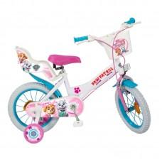 Toimsa 14 inch Bicycle Paw Patrol Girl