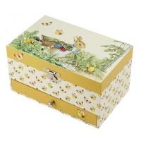 Trousselier Музикална кутия с чекмедже Зайчето Питър