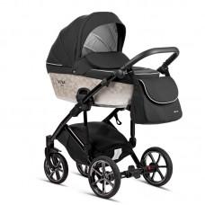 Tutis Baby Stroller 2 in 1 Viva Life Limited edition, Black