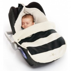Wallaboo Nore Footmuff 0 - 12 months striped black
