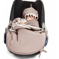 Wallaboo Baby blanket coco shark