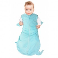 Wallaboo Swaddle sleeping bag blue