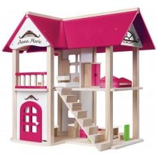 Woody Дървена къща за кукли Анна Мария