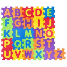 Woody Soft floor mat English Alphabet