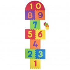 Woody Soft floor mat Numbers Game