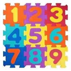 Woody Soft floor mat Numbers