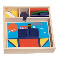 Woody Activity game Colors