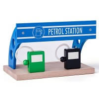Woody Petrol station