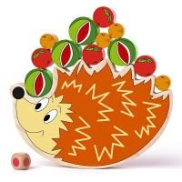 Woody Hedgehog Balance Game