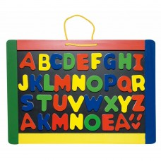 Woody Magnetic board with letters