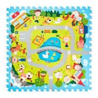 Woody Soft floor mat Farm
