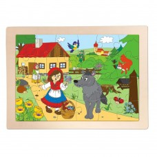 Woody Wooden Puzzle Little red riding hood