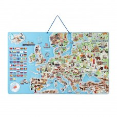 Wooden Magnetic Card Europe