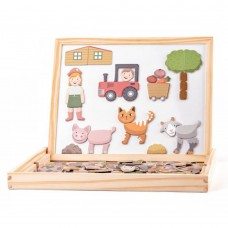 Woody Magnetic Board Animals