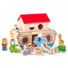 Woody Noah's ark sorter