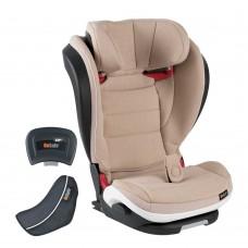 BeSafe Стол за кола iZi Flex FIX i-Size Ivory Melange (15-36кг)