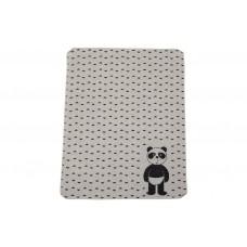 David Fussenegger Бебешко одеяло Juwel 70x90 Панда, екрю