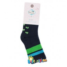 Baby Non-Slip Thick Socks with Silicone Dots, Cars